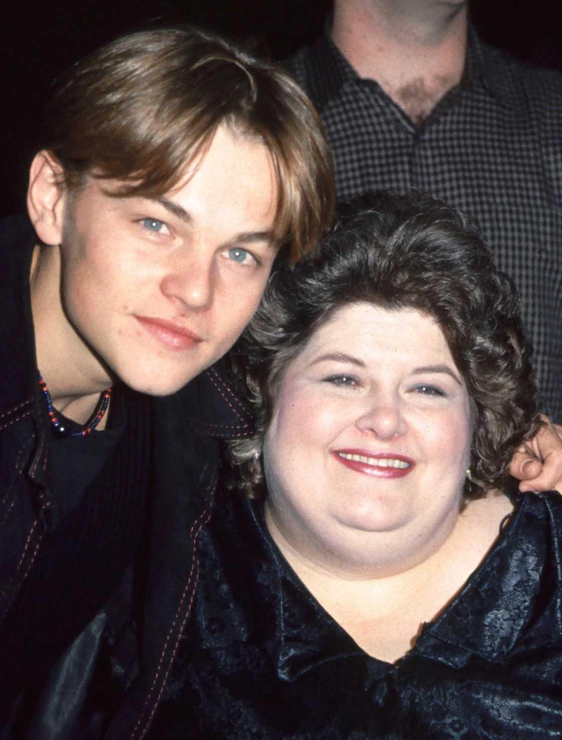 Leonardo DiCaprio tillsammans med Darlene Cates