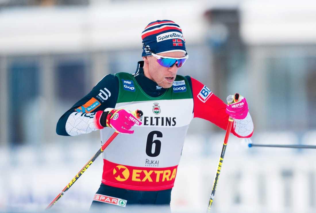 Didrik Tønseth springer EM i terränglöpning. Arkivbild.