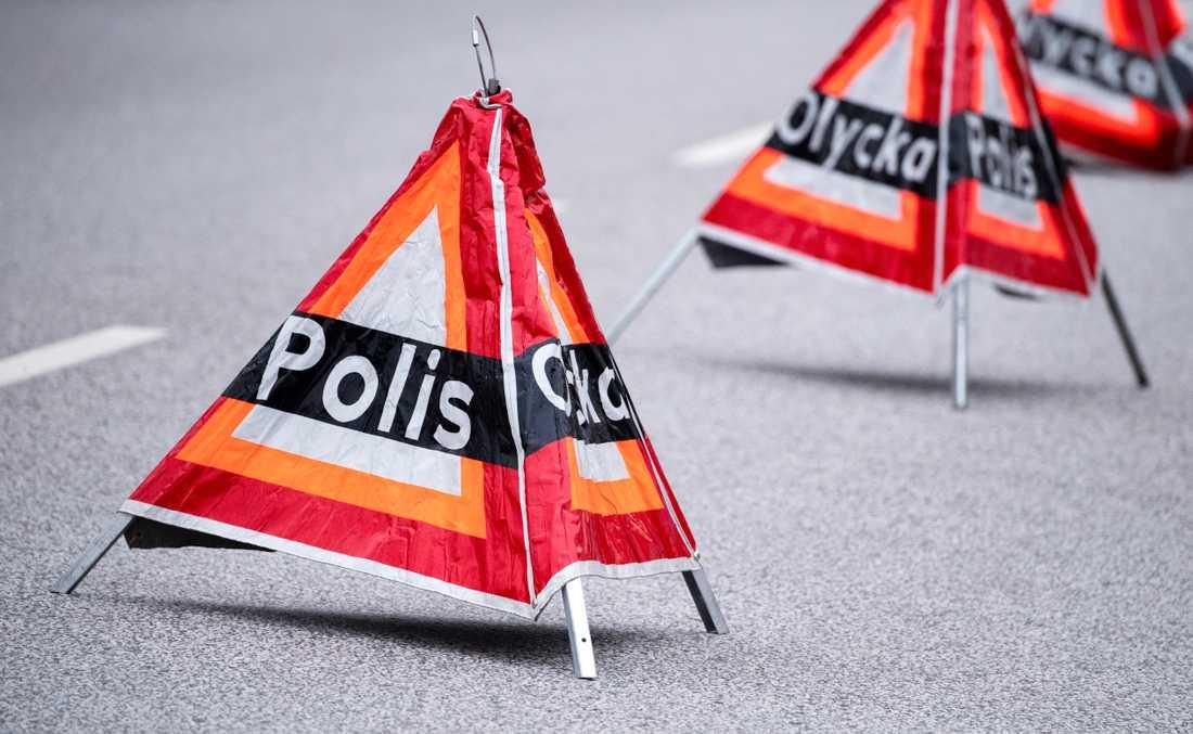 Polisen utreder vållande till annans död efter en trafikolycka i Stockholm. Arkivbild.