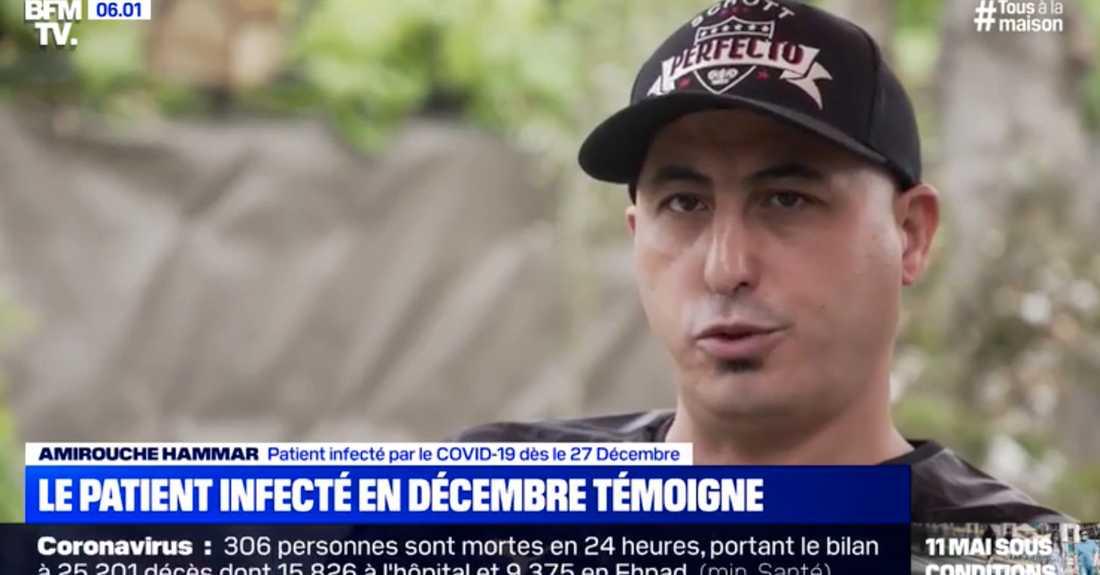 BFMTV intervjuar fransmannen.