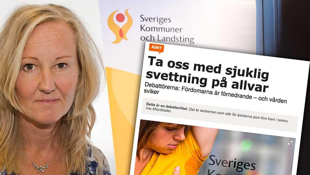 Personer som lider av hyperhidros ska kunna få den vård de behöver i Sverige eller i ett annat EU/EES-land. Men vi kan inte låta privata kliniker i andra länder bestämma hur mycket vården ska kosta för svenska skattebetalare, skriver Åsa Sandgren Åkerman, SKL.