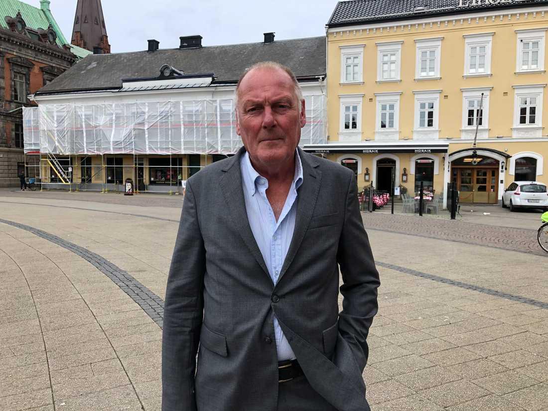 Anders Refthammar är en av skåningarna som reagerat kraftigt på det danska avloppsvattnet.