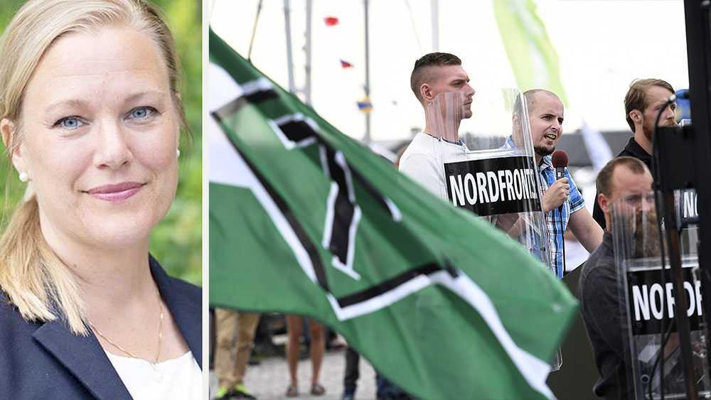 Att nazister dyker upp i Almedalen är numera lika sannolikt som att det regnar i Sverige under sommaren. Det som borde vara en folkfest och en demokratisk mötesplats förvandlas till en återkommande arena för extremister, skriver Annelie Börjesson, Ordförande i Svenska FN-förbundet.