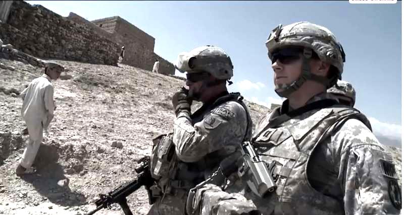 """Ur dokumentären """"Dirty wars"""" av Jeremy Scahill."""
