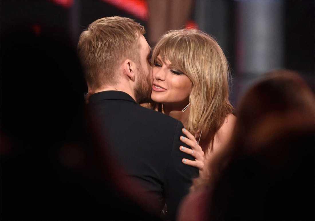 Taylor Swift och Calvin harris.