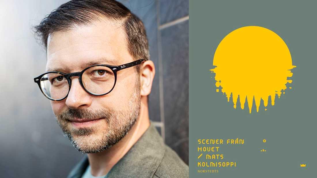 """Mats Kolmisoppi (född 1976) debuterade 2001 med den kritikerhyllade novellsamlingen """"Jag menar nu"""". För sin andra bok, """"Ryttlarna"""" (2005), tilldelades han Aftonbladets litteraturpris."""