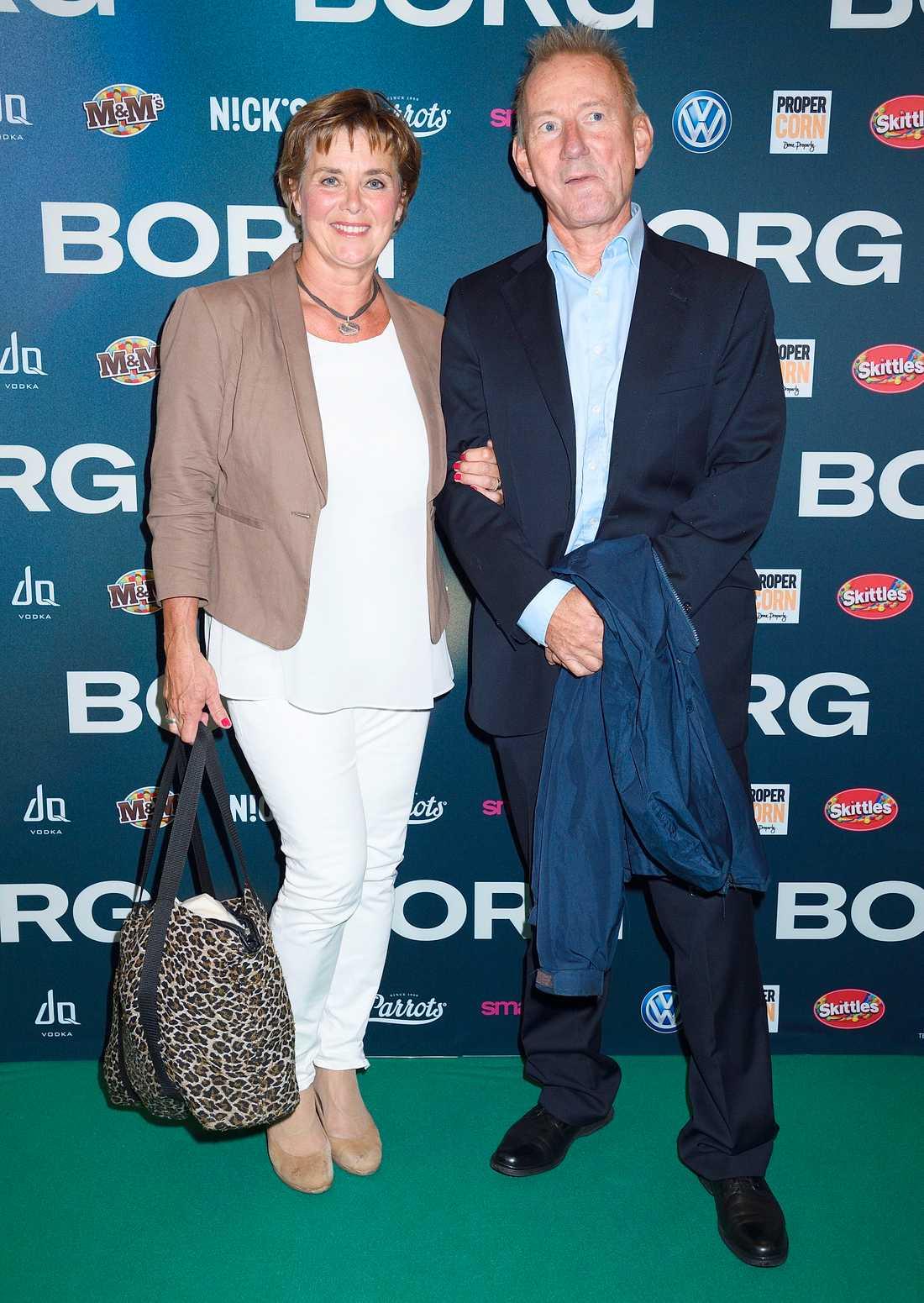 Lotta Bouvin-Sundberg tillsammans med maken Pelle Sundberg