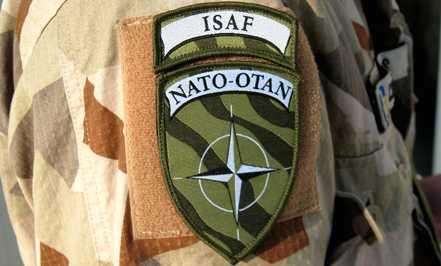Natomärket pryder de svenska soldaternas uniformer i Afghanistan.