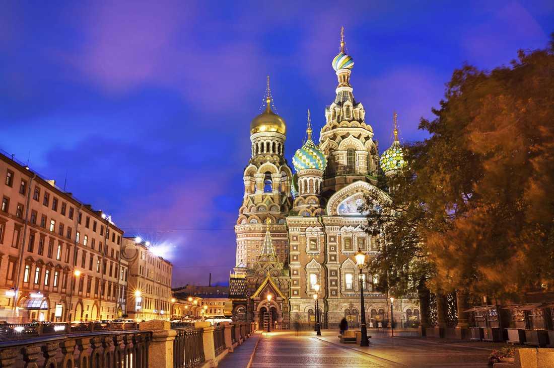 Sankt Petersburg hamnar på andraplats.