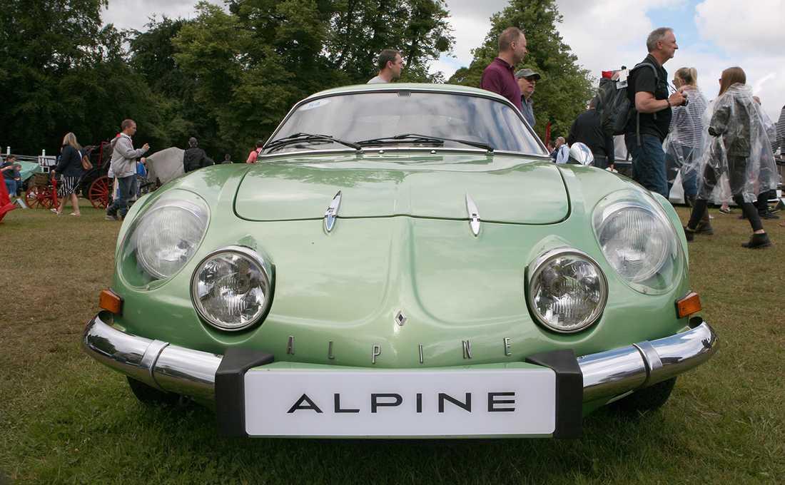 Undertecknads favortibil – en Alpine A110 SX Berlinette från 1977.