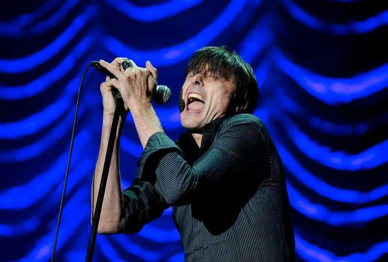 Brett Anderson, sångare i Suede.
