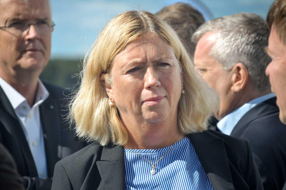 Ulla Sandborgh, generaldirektör för Svenska kraftnät. Arkivbild