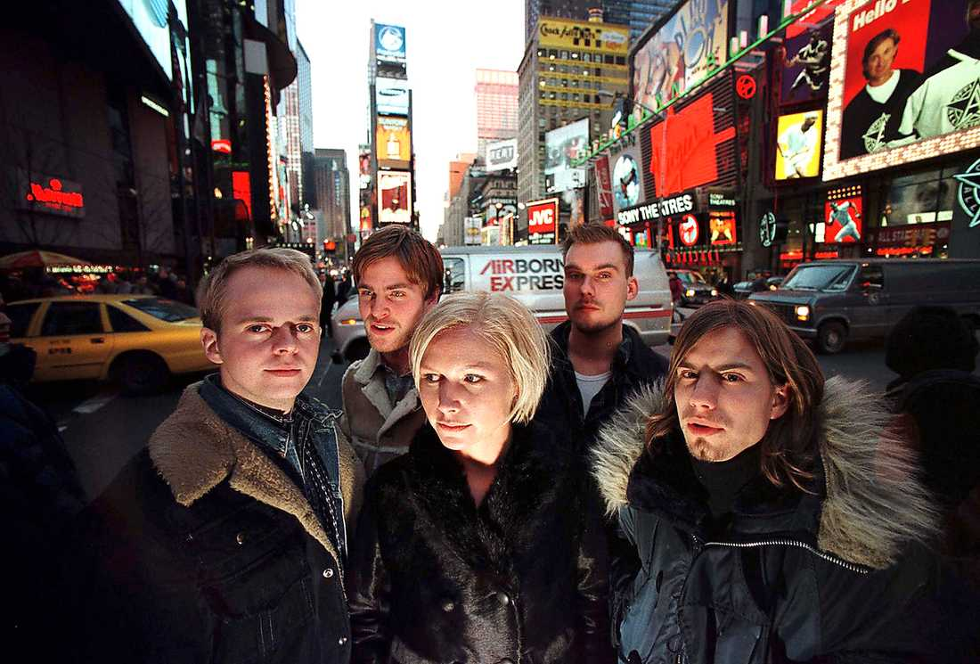 The Cardigans.