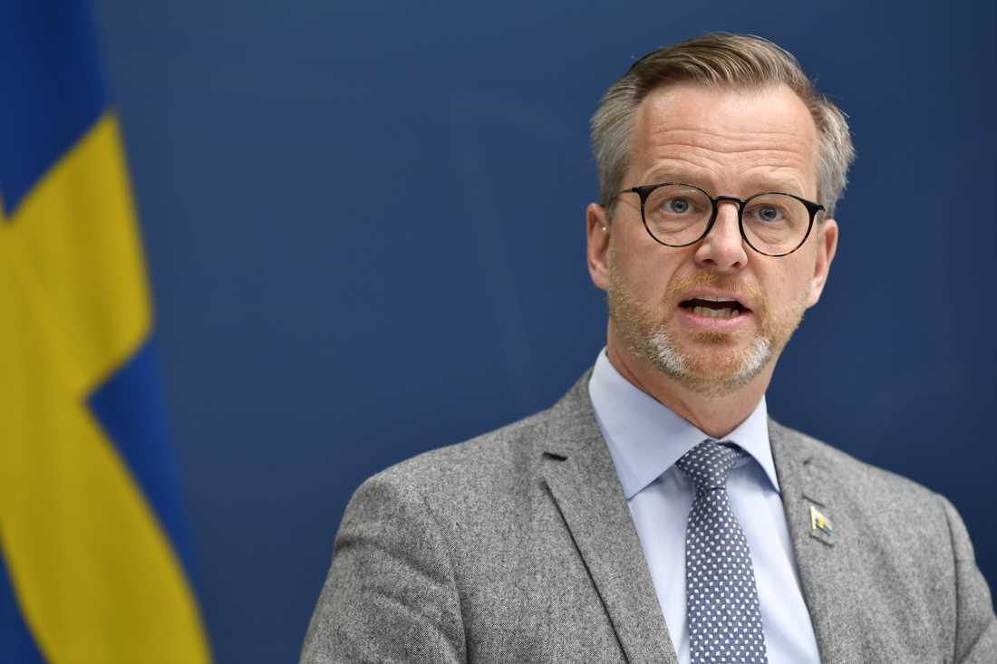 Inrikesminister Mikael Damberg (S). Arkivbild.