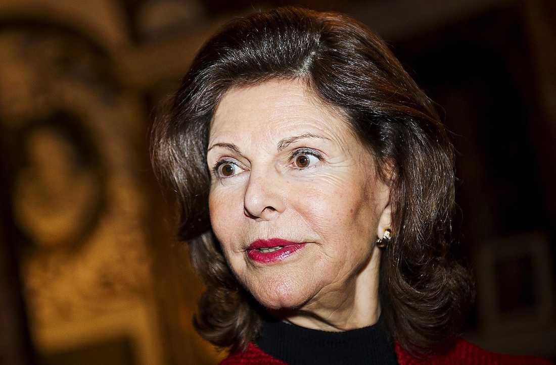 Drottning Silvia. Foto: Robin Lorentz-Allard