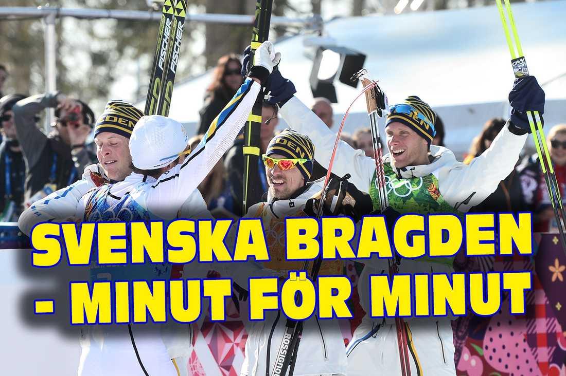 Efter uppvisningen: Sverige tog guld igen   Aftonbladet