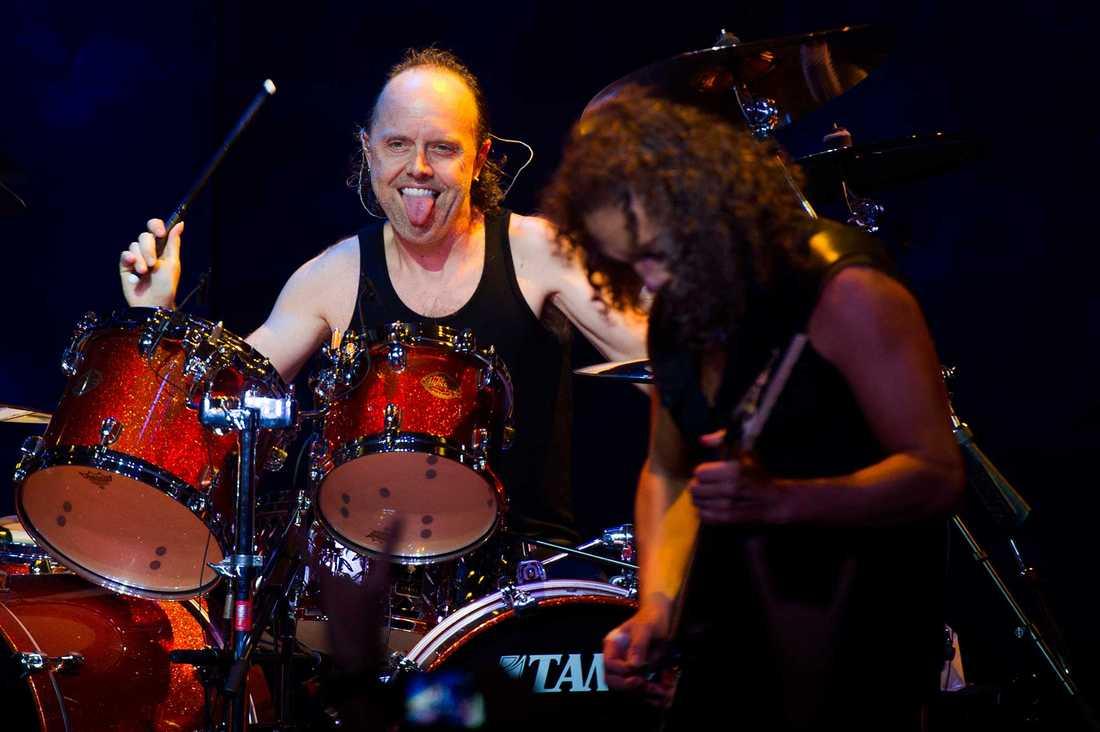 Lars Ulrich, trummis i Metallica.
