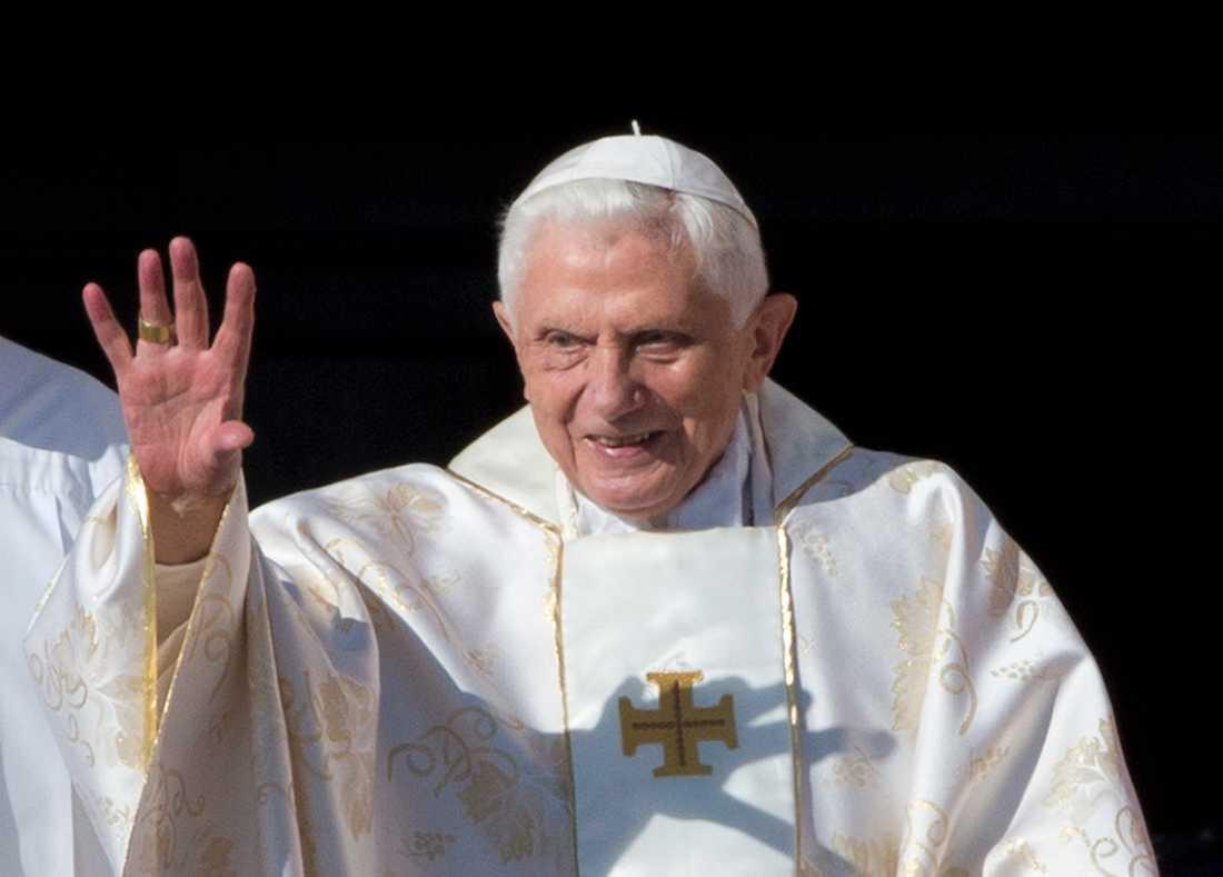 Ex-påven Benedictus 2014.
