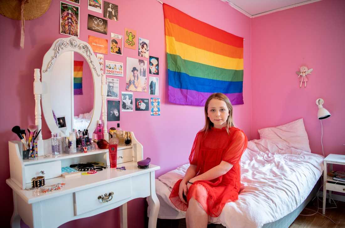 Transpersonen Kurt, 13, kämpar för allas lika värde.