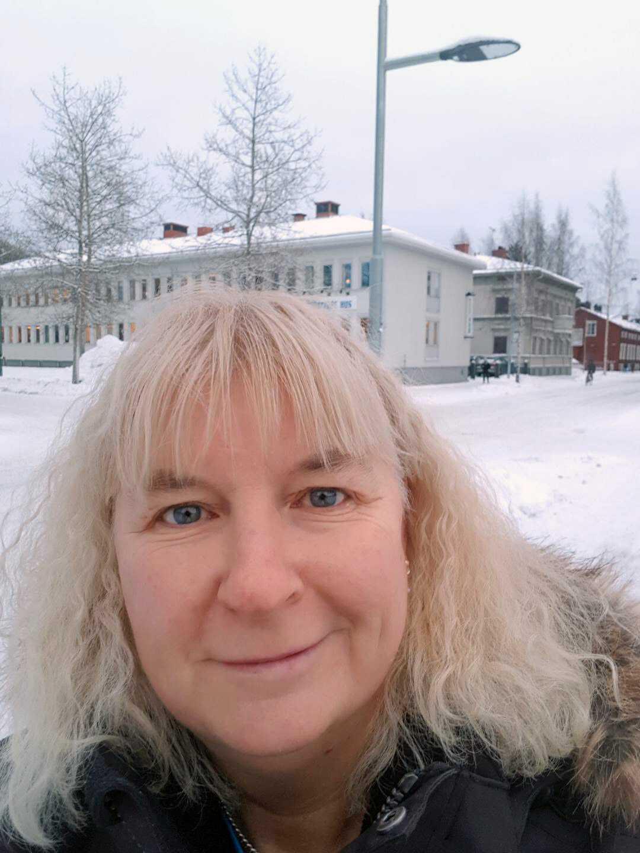 Busschauffören Carina Palm, 53.