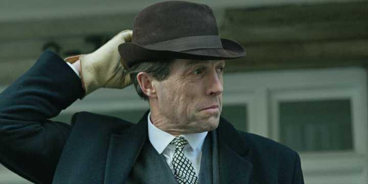 """Hugh Grant i """"En engelsk skandal""""."""