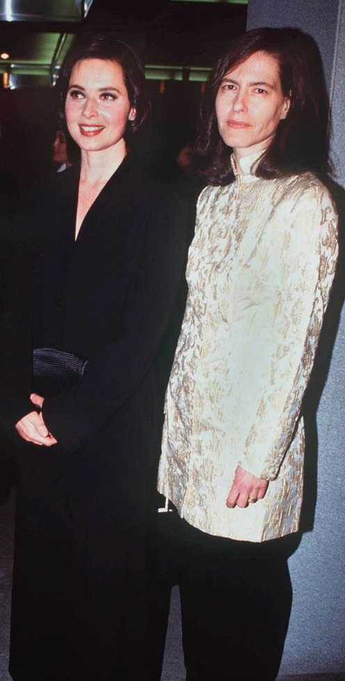 Isabella och Isotta Ingrid Rossellini.