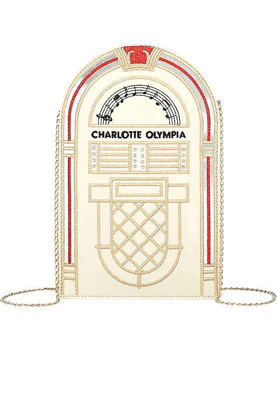 Charlotte Olympia-väska, pris cirka 4000 kronor.