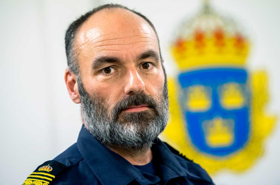 Patrik Engström, chef för gränspolisen. Arkivbild.