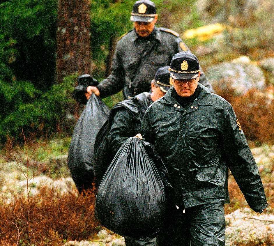 Norsk polis letar efter kvarlevorna efter 9-åriga Therese Johannesen.