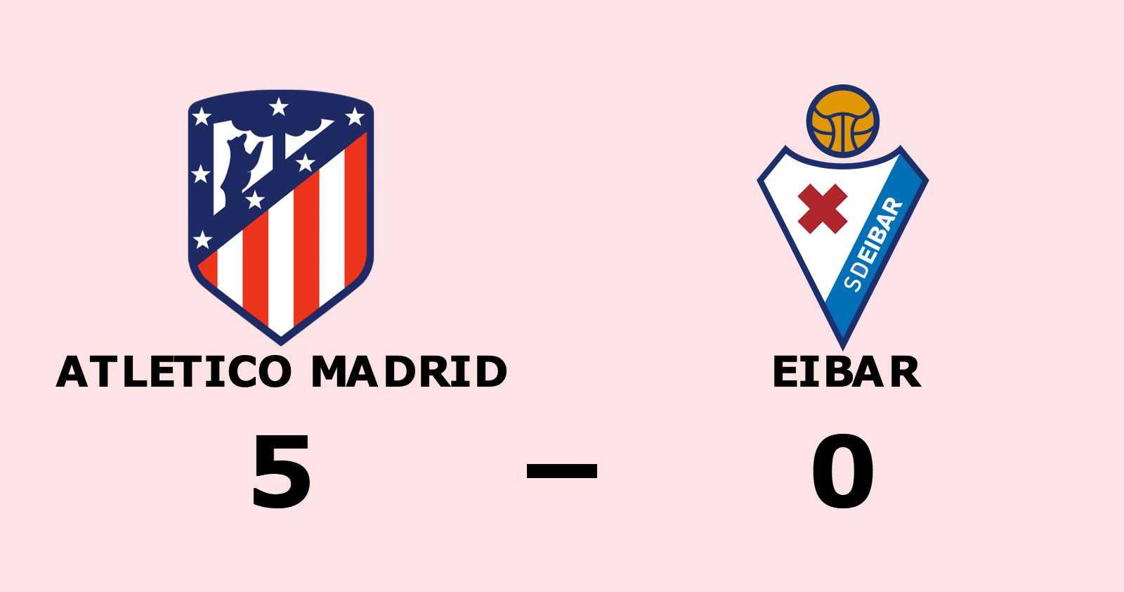 Atletico Madrid utökar serieledningen efter ny seger