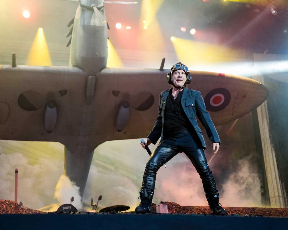 Iron Maiden på Sweden Rock.