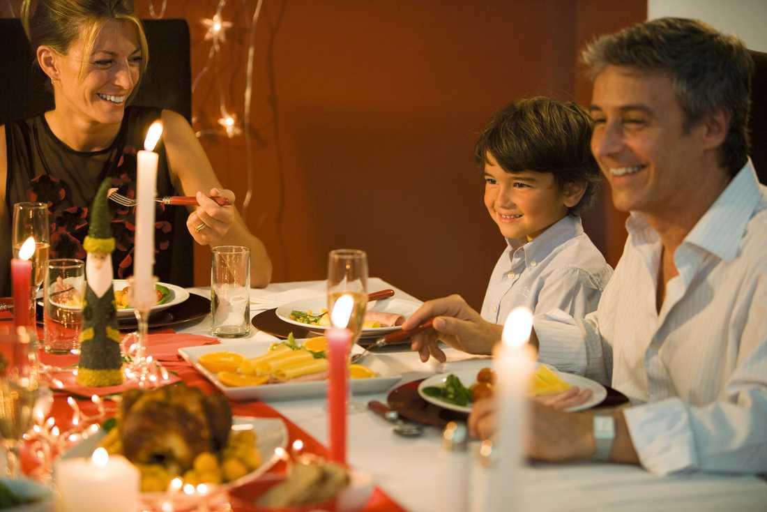 """""""Titta på alla reklambilder kring jul – alla är så glada och det är så mycket kärnfamilj i de där bilderna"""""""