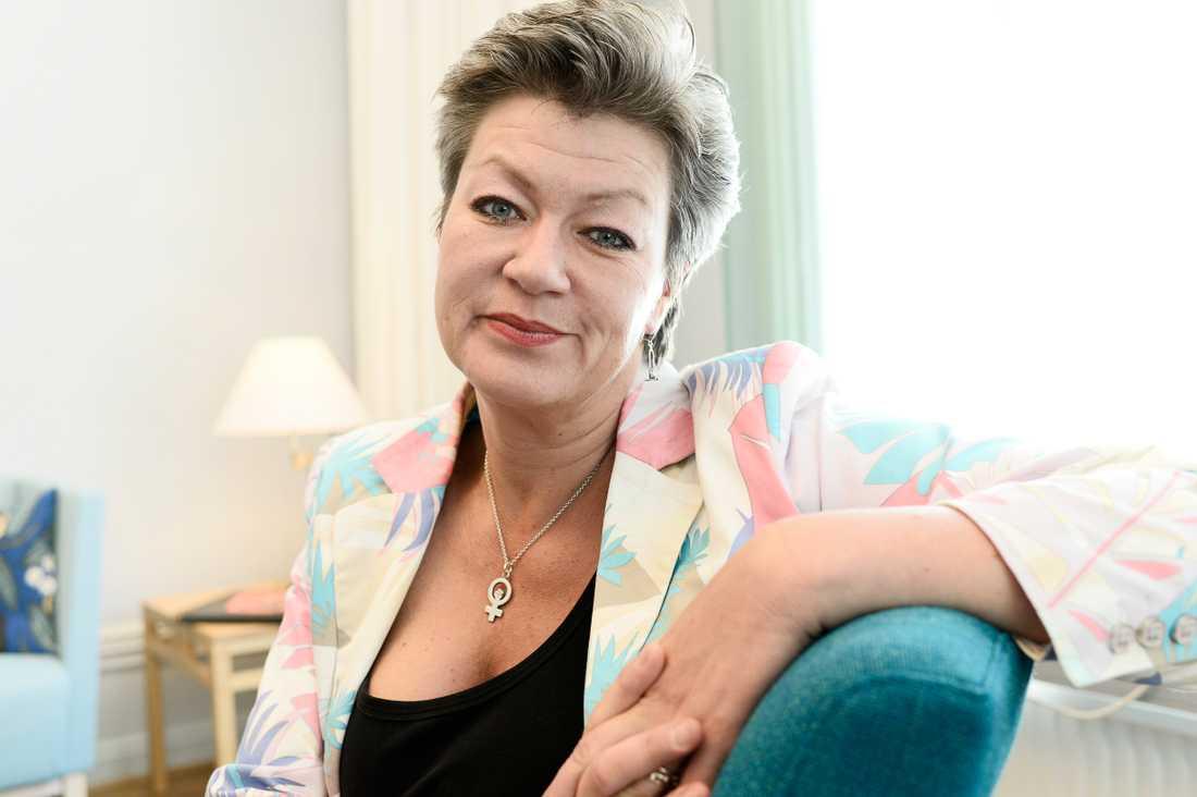 Ylva Johansson (S), arbetsmarknadsminister.