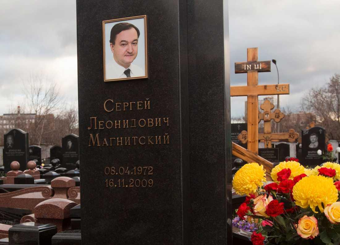 Skatterevisorn Sergej Magnitskij kom ryska storförskingrare på spåren, greps och dog under mystiska omständigheter 2009. Arkivbild.