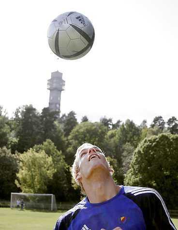 Sören Larsen gör succé i allsvenskan och danska landslaget.