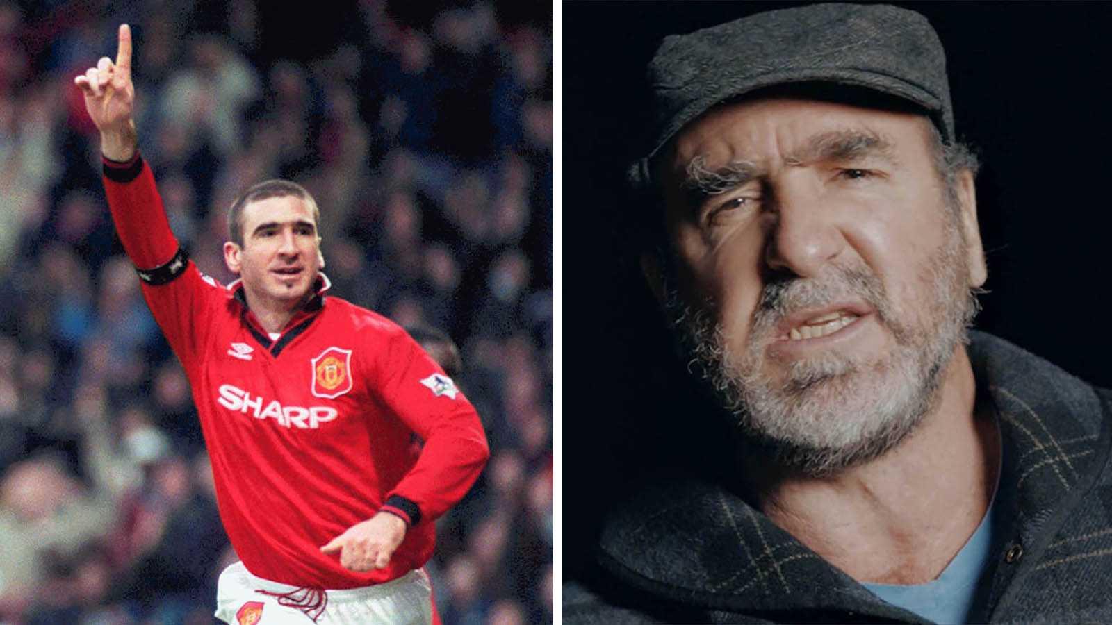 Eric Cantona berättar Manchester Uniteds historia på ett personligt sätt