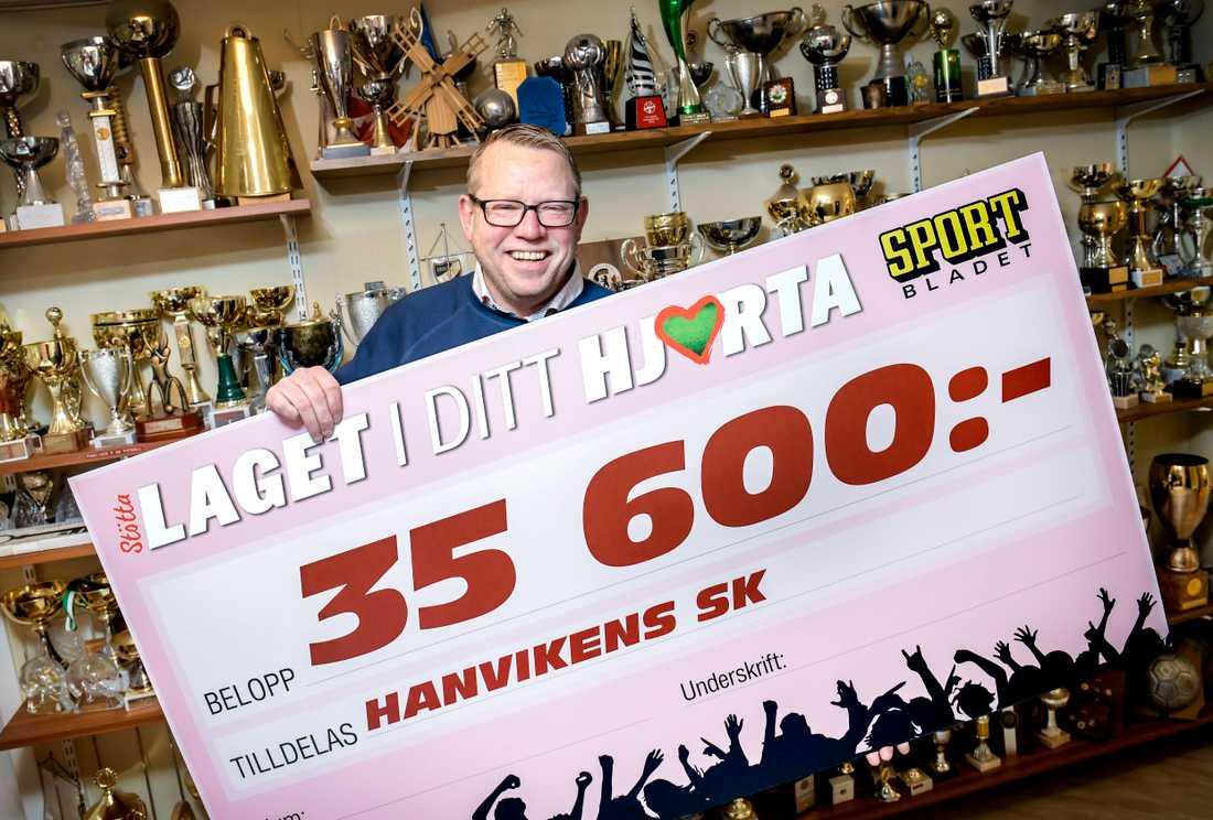 Sportbladets Laget i ditt hjärta-kampanj är nominerad till Årets kampanj. I kampanjen kunde läsare stötta fotbollsklubben de brinner för med 100 kr och Sportbladet dubblade summan och 200 kr gick oavkortat till klubben. Kampanjen blev en succé. Störst bidrag fick Hanvikens SK som fick 35 600 kr till sin klubbkassa.