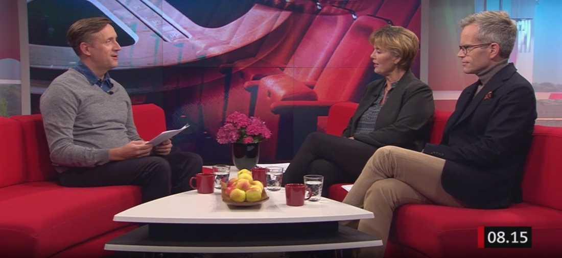 """Alexander Norén dementerar nakenryktena: """"Jag är inte naken"""""""