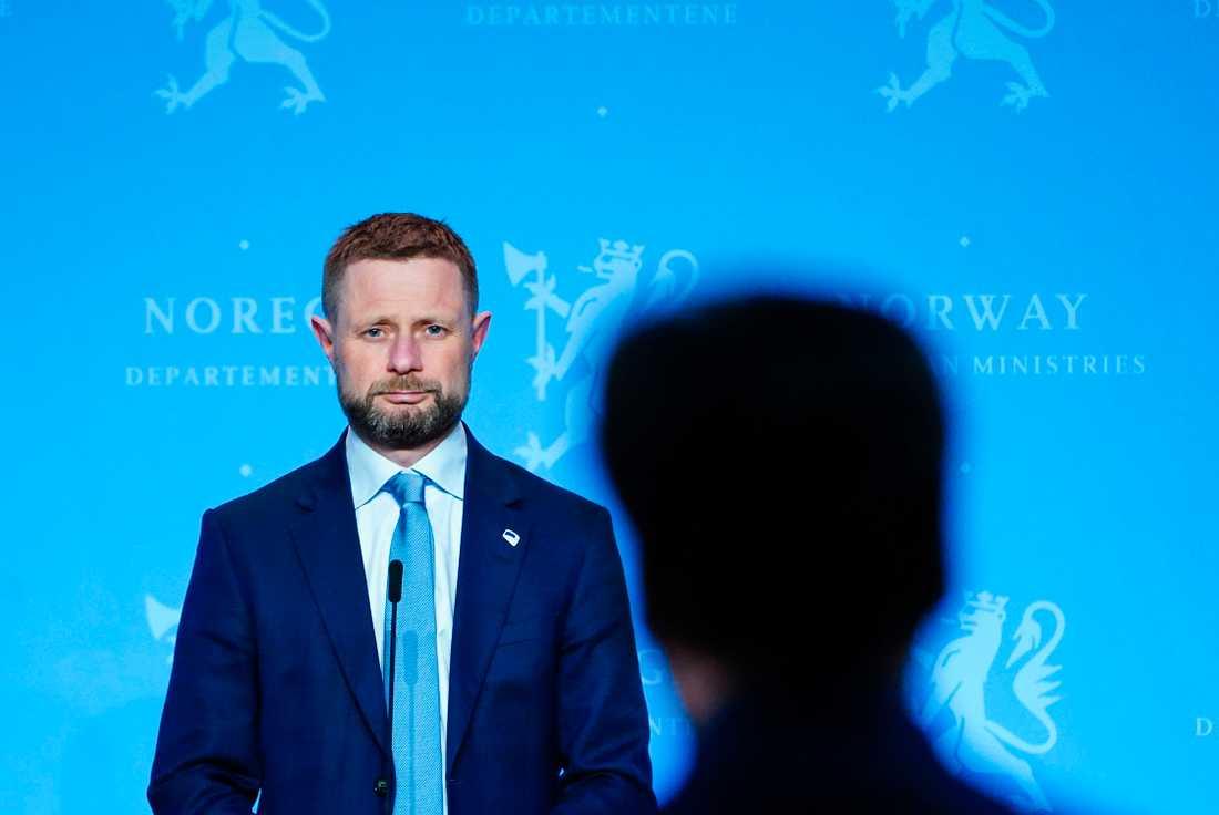 Norges hälsominister Bent Høie (H). Arkivbild.