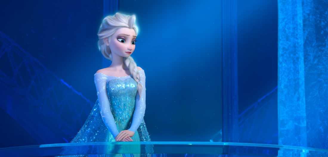 """Elsa från """"Frost""""."""