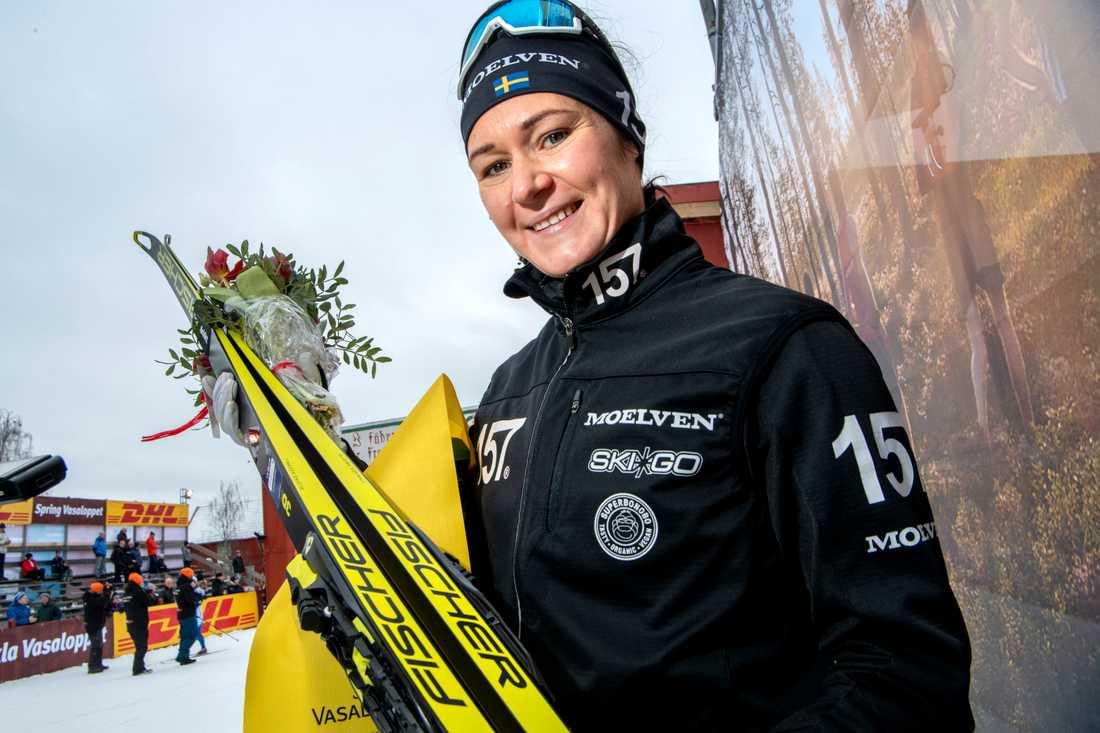 Britta Johansson Norgren vann Tjejvasan 2019. Arkivbild.