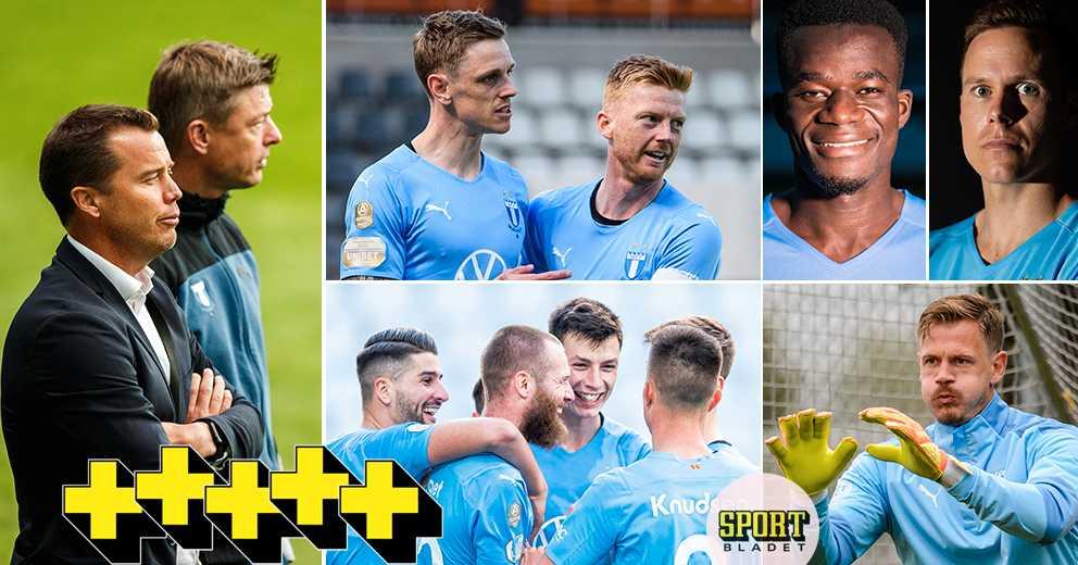 """Synar Malmö FF: """"Ganska nöjda – för stunden"""""""