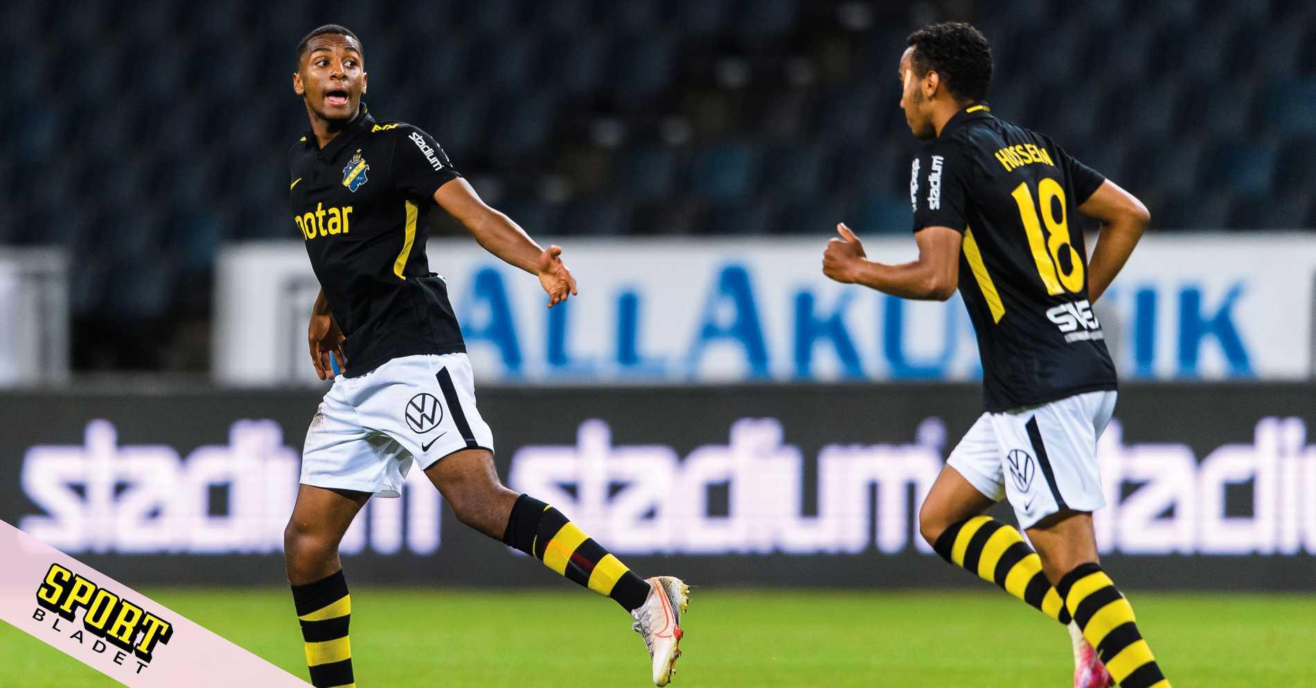 Abraham räddade AIK-poäng på övertid