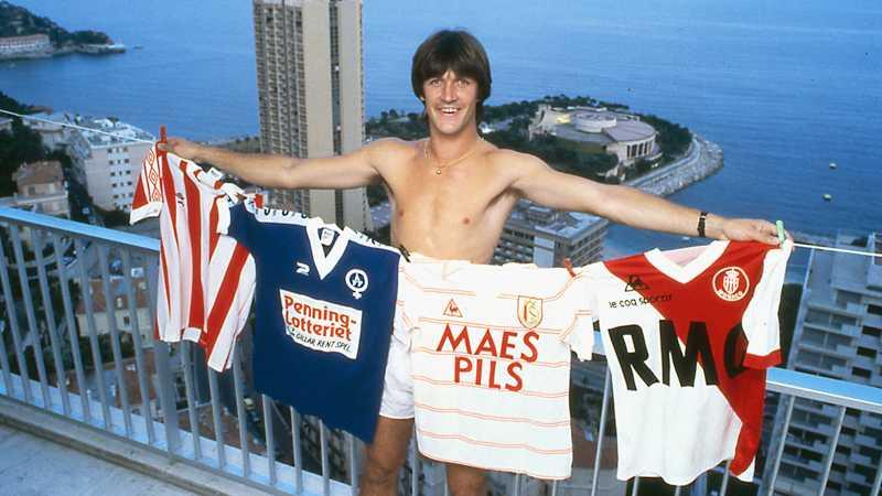Ralf Edström i Monaco.