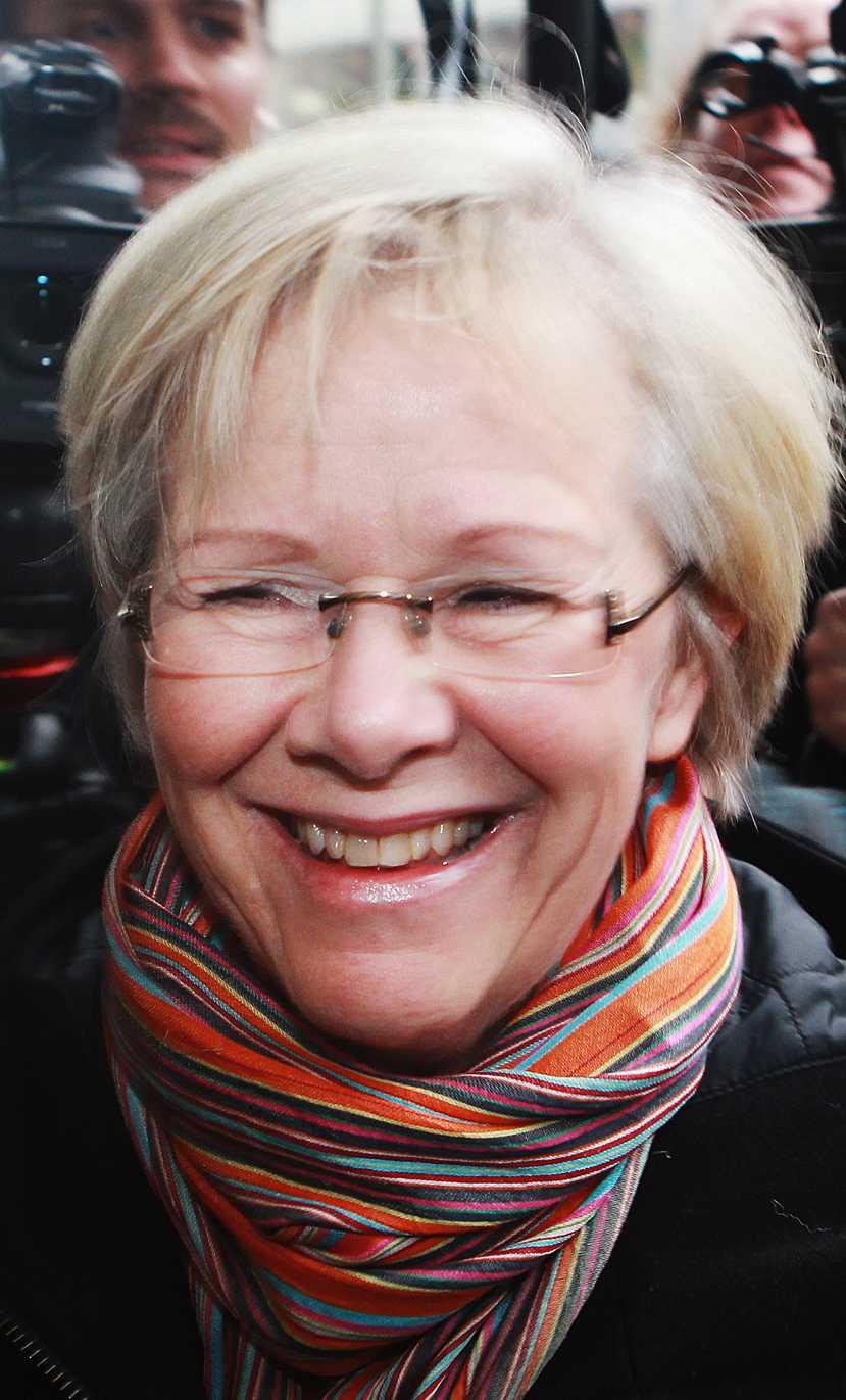 Syns i Trollhättan LO:s ordförande Wanja Lundby-Wedin första majtalar i bland annat Trollhättan.