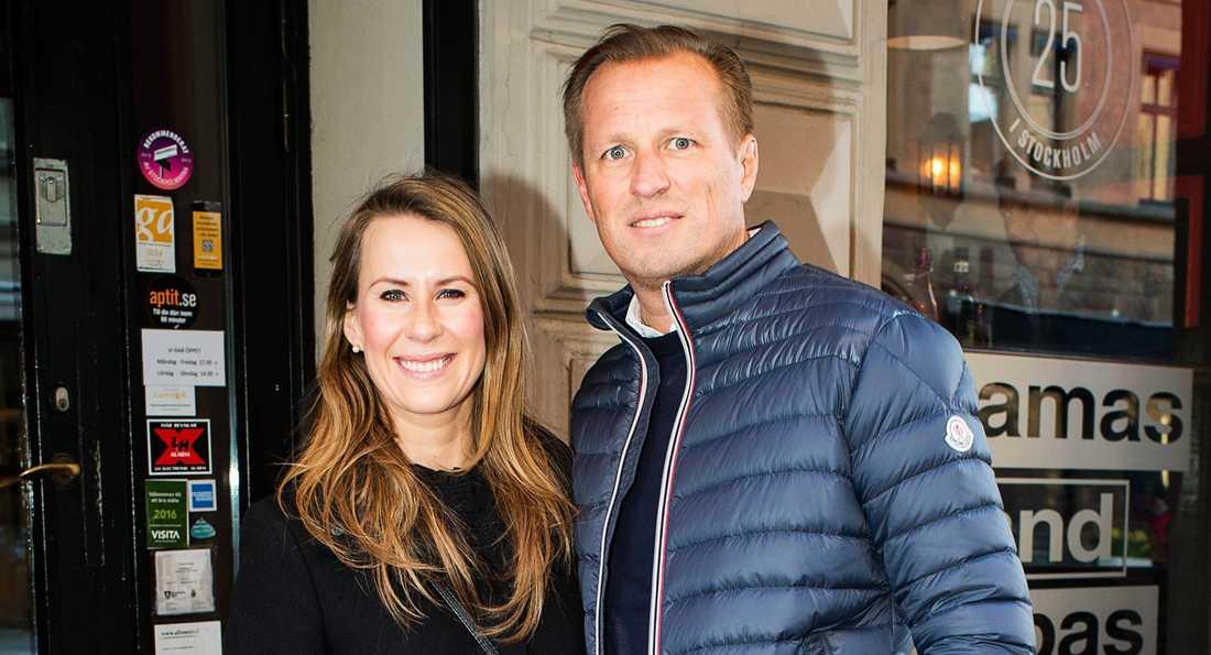 Cecilia Ehrling och Fredrik Danemark.