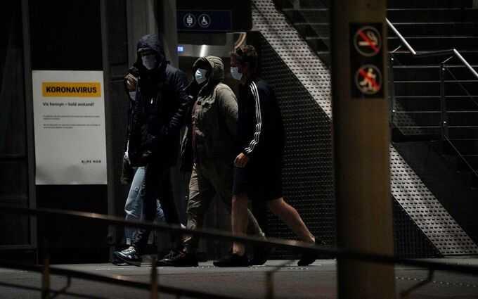 Oslo centralstation evakuerades efter bombhotet.