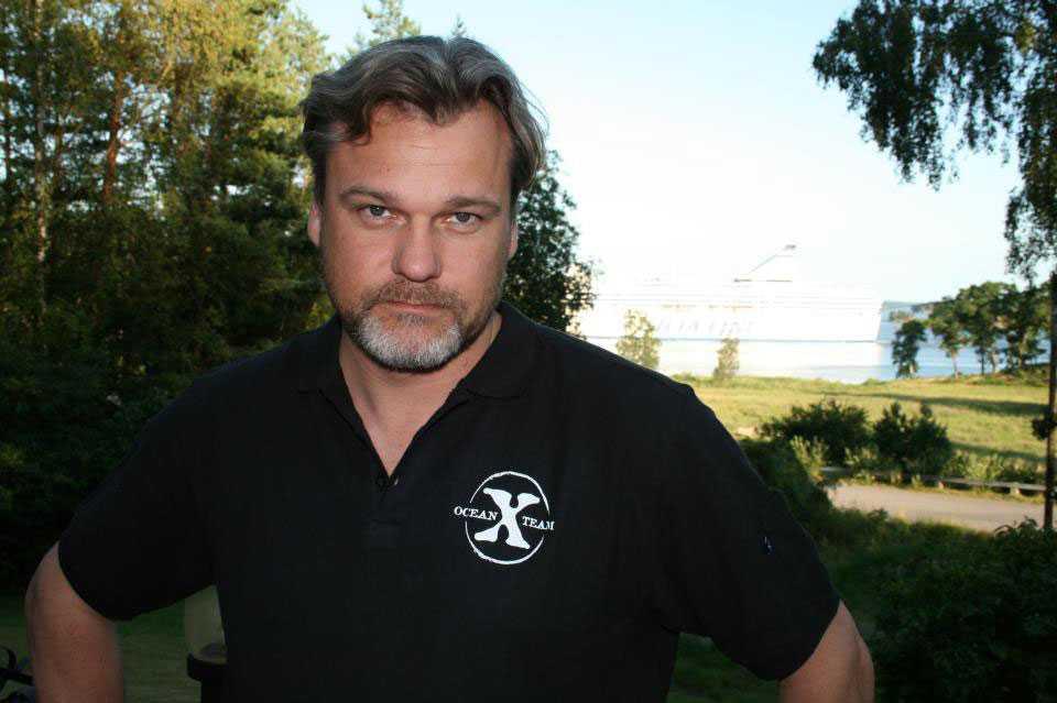 Dennis Åsberg, Ocean X team.