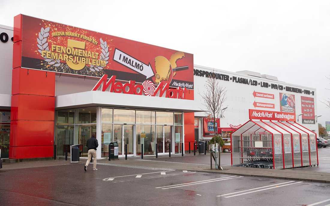 Media Markt på Stora Bernstorp i Malmö.