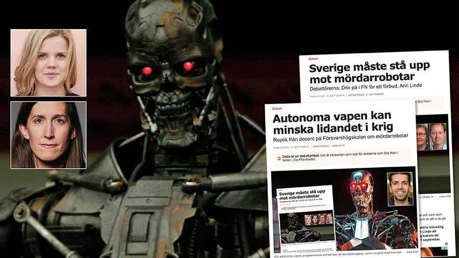 Maskiner är bra vid beräkning, men etiskt, och lagligt, beteende kräver i grunden bedömningar där mänskliga egenskaper är en förutsättning, skriver Malin Nilsson och Agnes Hellström.